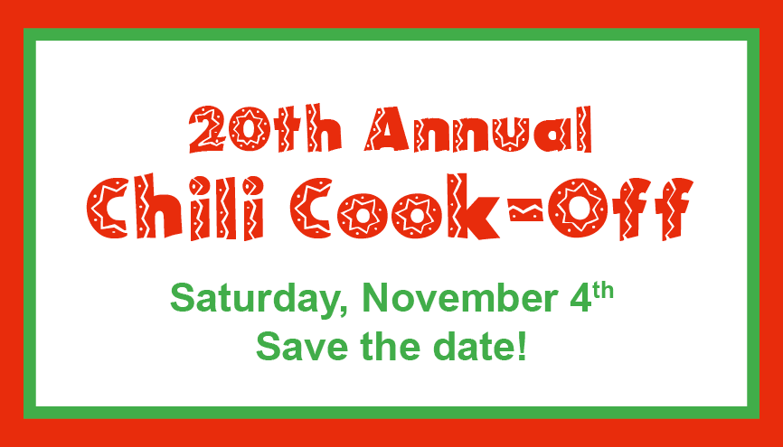 November is Chili Cook-Off Time!