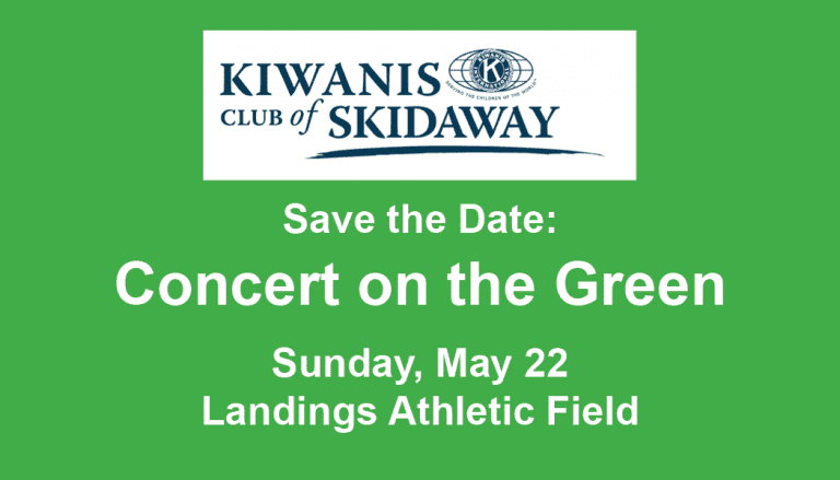 Concert on the Green — Save the Date!