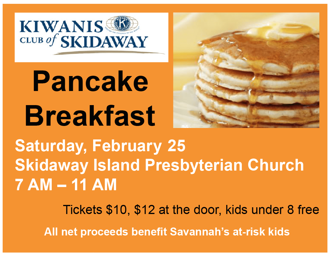 Pancake Breakfast — February 25